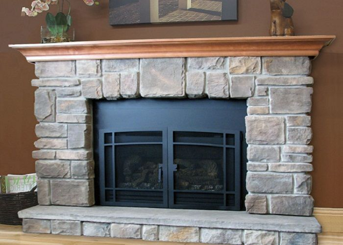Elk Ridge Stone Fireplace Mantel Kits