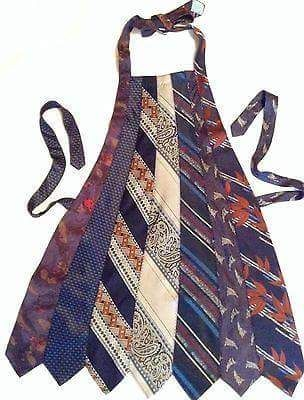 Apron made from old neck ties