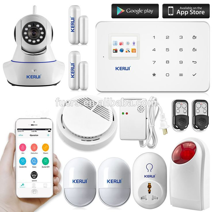 2016 Kerui G18 APP control GSM wireless intelligent home anti-burglar security alarm system