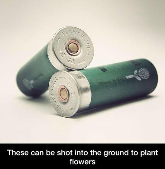 flower shotgun shells