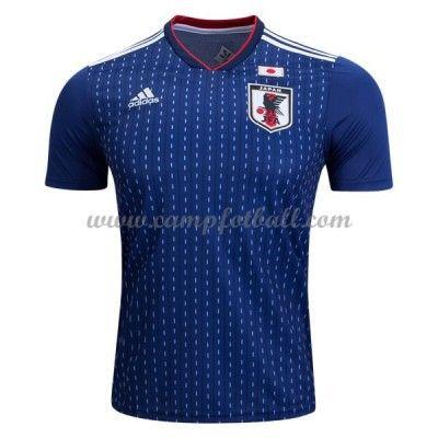 Billige Fotballdrakter Japan VM 2018 Hjemme Draktsett