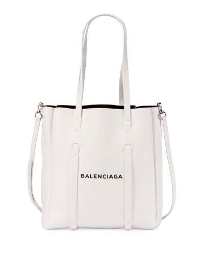 ee48847968e Balenciaga Everyday Small Leather Logo Tote Bag