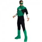Adult Green Lantern Fancy Dress Costumes For Men