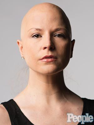 Bald Photo Shoot of Diem Brown, PEOPLE Blogger & Cancer Survivor : People.com