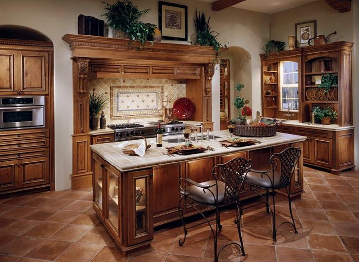 Framed Cabinets Rustic Alder Cinnamon With Chocolate Glaze Also See Mount  Vernon. Kitchen Cabinets ...