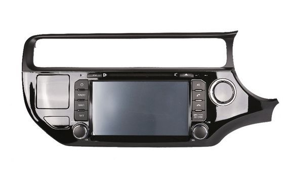 348.65$  Watch now - Android 5.1 car dvd GPS for  Kia RIO RHD 2015 2016  radio gps wifi 3G Mirror link free map and reverse camera   #bestbuy