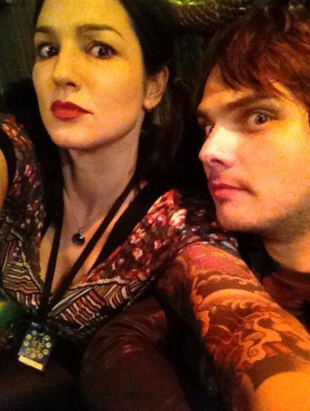 Lindsey & Gerard Way | Killjoys Never Die ?   | Pinterest
