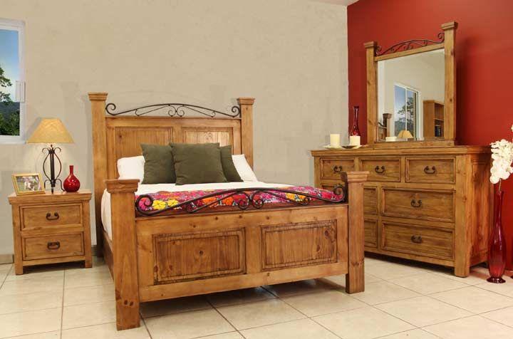 rustic bed sets | Rustic Bedroom Furniture, Rustic Bedroom Furniture Set