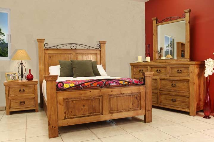 rustic bed sets | Rustic Bedroom Furniture, Rustic Bedroom Furniture Set