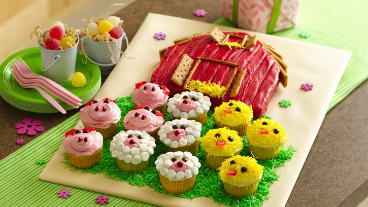 """Here's an """"udderly"""" fantastic birthday party for the littlest partygoers—babies and toddlers—with simple foods and activities geared just for them!"""