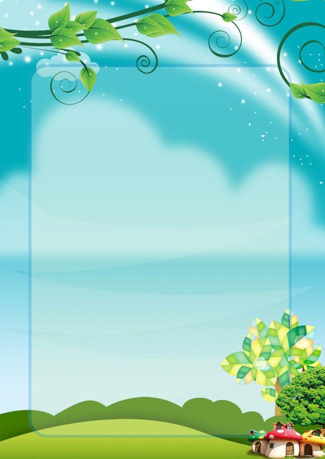 Kindergarten Children Grow Blue Background Clip File Background Design Powerpoint Background Design Abstract Wallpaper Backgrounds