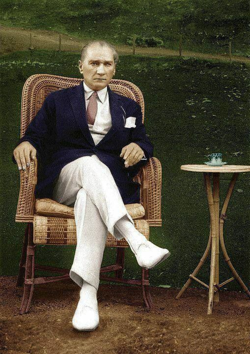 #Atatürk My real idol, ladies and gentlemen... In any sense... (1930s by the way...) #mensfashion #mensstyle