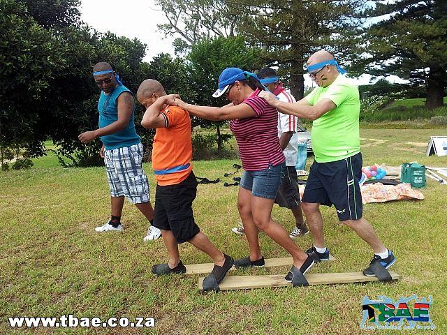 Plankwalk Team Building Exercise