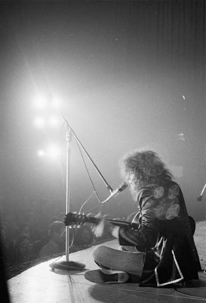 Marc Bolan, 1972 U.S. Tour.Deep into T-Rex's first American tour, Keith captured the full drama of the occasion