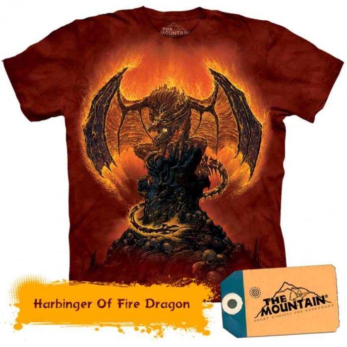 Tricouri The Mountain – Tricou Harbinger Of Fire Dragon