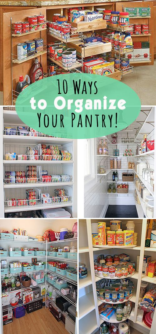 5 Tips For A Gorgeous And Organized Pantry: 10 Ways To Organize Your Pantry!