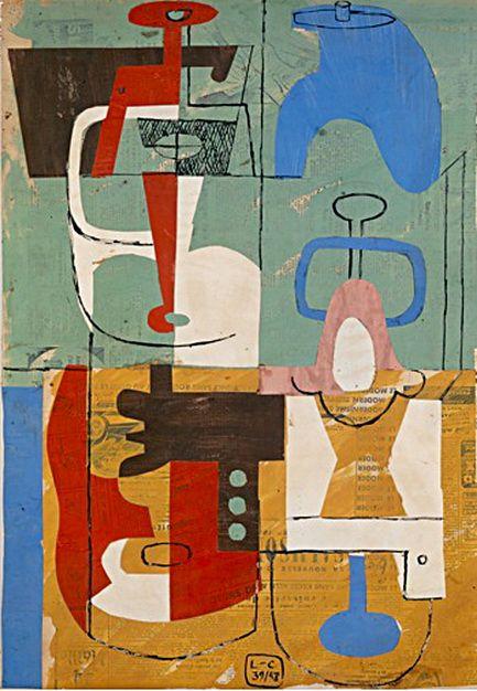 artist-corbusier: Still Life by Le Corbusier (via artist-severini)