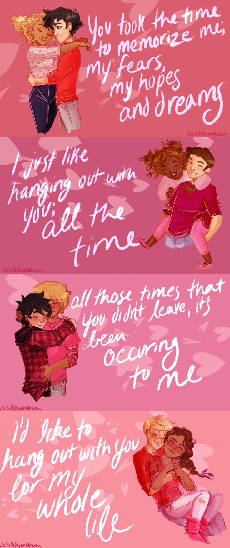 Stay; and I'll be loving you for quite some time | art by dellbelle39