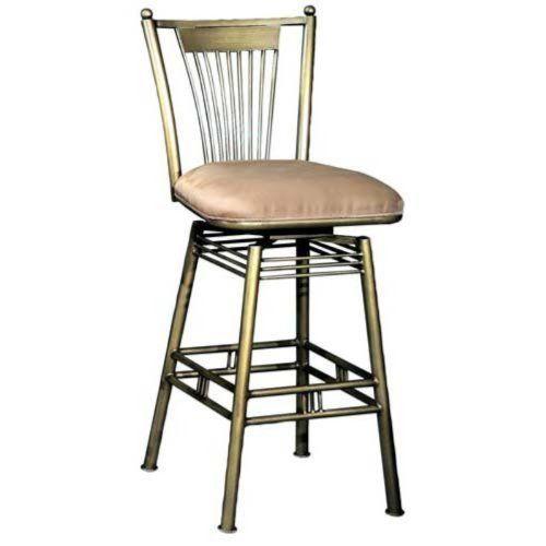 Metal Bar Stool With Swivel Bucket Seat Woodworking