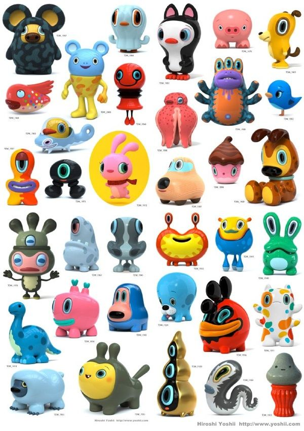 Kawaii art toys