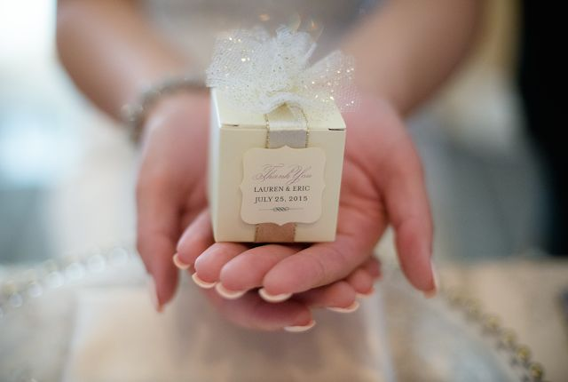DIY Wedding Favour Box