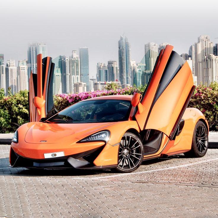 Drive the 2016 McLaren 570S in Dubai 🇦🇪 AED 2500 / day