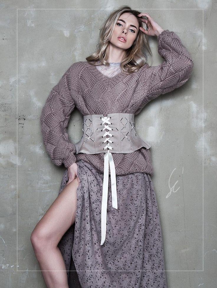 Юбка Wool Lace