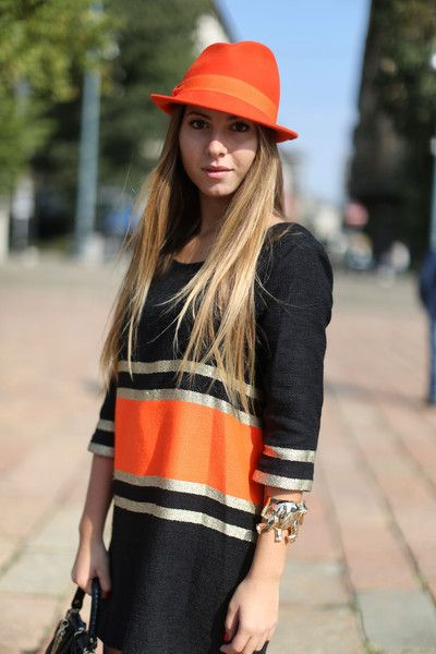 Neon Stripe      #fashion #styles