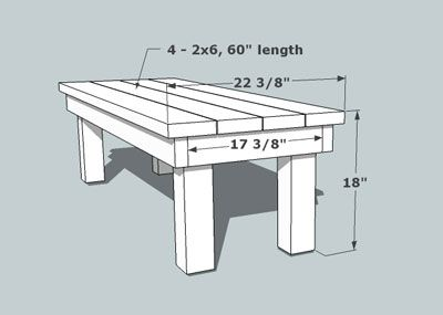 Outdoor Bench, By better Outdoor Living at Home.