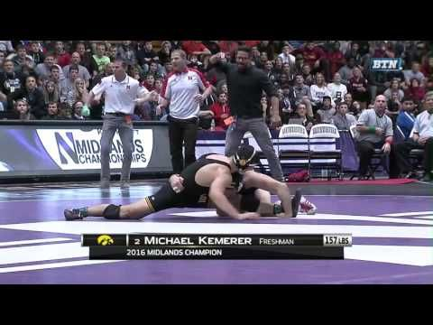 Midlands Championships at Northwestern - Wrestling Highlights