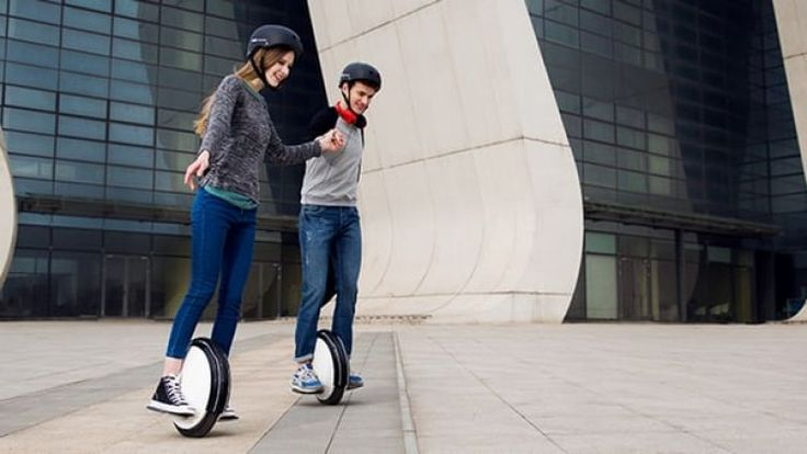 """Video: Riders of new Segway unicycle will need """"fearless mindset"""""""