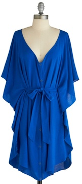Blue, flowy....perfect color and style