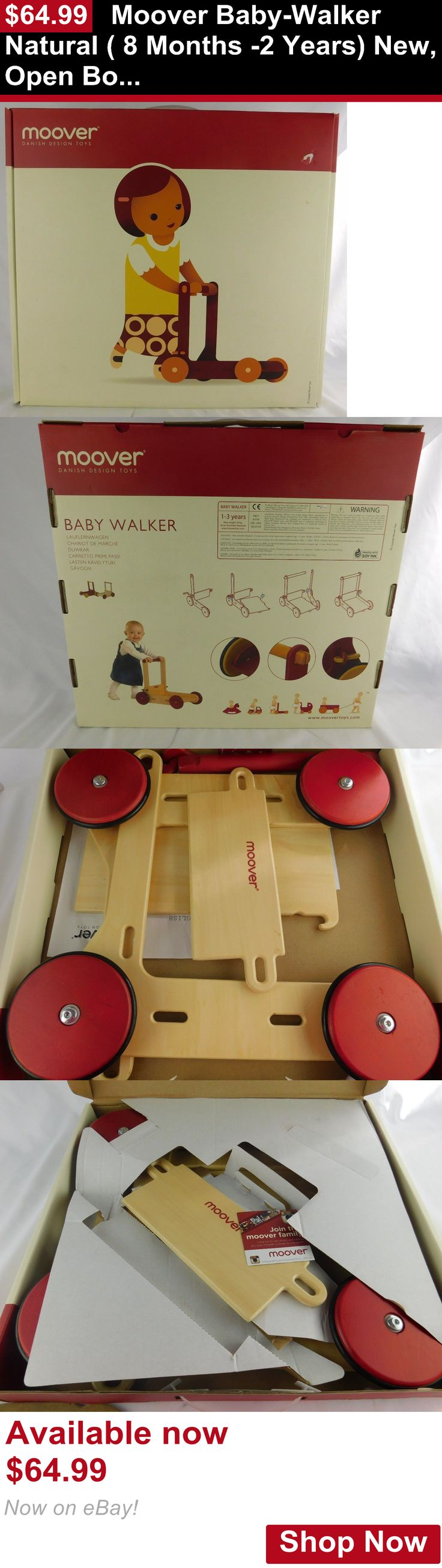 Baby walkers: Moover Baby-Walker Natural ( 8 Months -2 Years) New, Open Box BUY IT NOW ONLY: $64.99