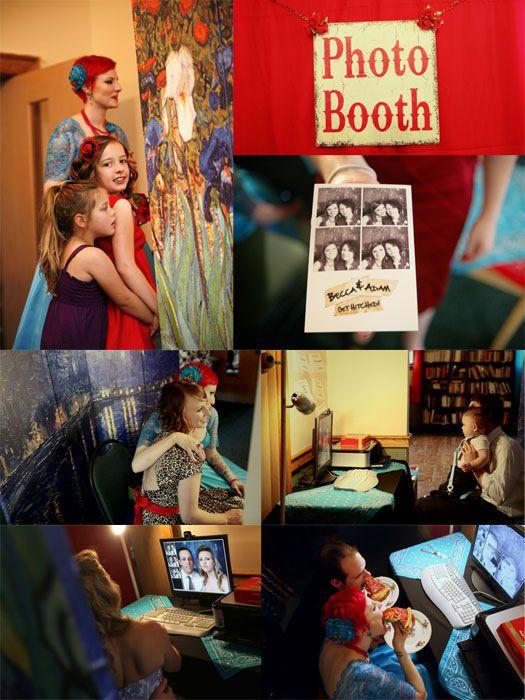 Easy diy wedding photobooth using a webcam