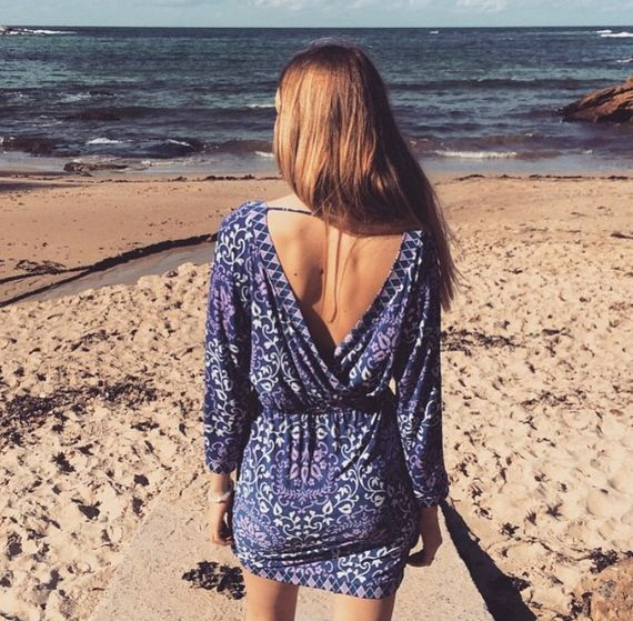 Demyan Dress: Baltic