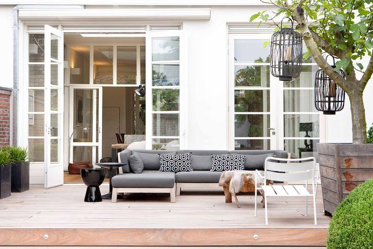 Loungeset KOEN I Royal Design Exclusieve Buitenmeubelen  webshop teak tuinmeubelen: www.royaldesign.nl