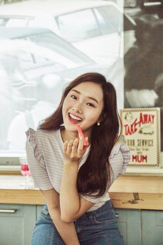 K-Pop Star 6 Contestant Kriesha Tiu Poses for 'Holika Holika' | Koogle TV
