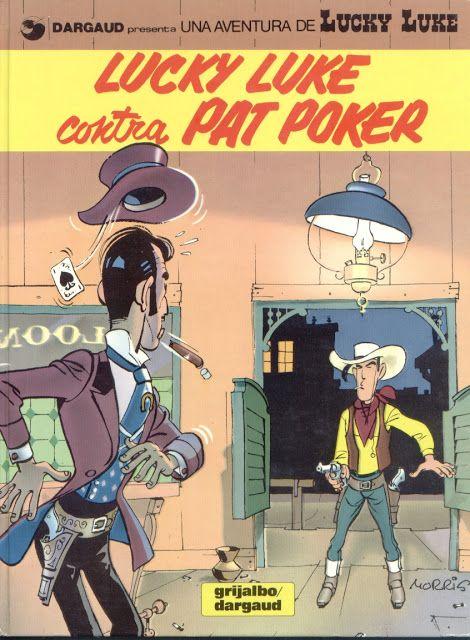 @kioskodeltiempo: Lucky Luke contra Pat Poker