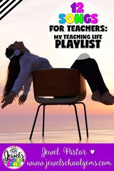 12 SONGS FOR TEACHERS: MY TEACHING LIFE PLAYLIST by Jewel Pastor of Jewel's School Gems | If you could describe each year of your teaching life with a song, what would your playlist look like? After coming up with my list, I realized mine is a mix of old and new upbeat tunes, plus a lot of feel-good and inspirational songs. These songs very well describe the experiences I've gone through all these years. Here are 12 songs for teachers like me and you!