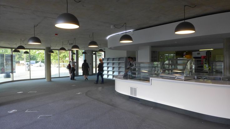 The new Library Cafe taking shape