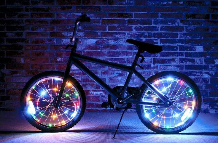 Bike Safety! Wheel Brightz Lightweight LED Bicycle Safety Light Accessory Mulri #BRT
