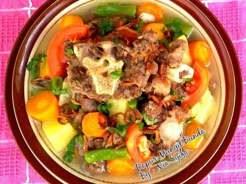 Resep Sop Buntut Ala Desa Oleh Nia Syifa Recipe Food Dishes Food Indonesian Food