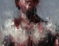 [66] untitled oil on canvas  65 x 45.5 cm 2013 by KwangHo Shin, via Behance
