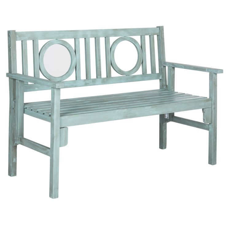 Pretty and practical, the Piedmont folding bench is a contemporary update of classic British garden seating.