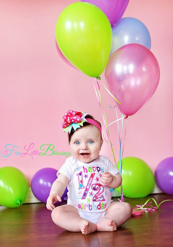 Happy Birthday  Half Birthday  1/2 Birthday  by 5littleblessings, $21.00