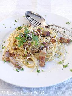 Pasta: cremige Spaghetti Carbonara
