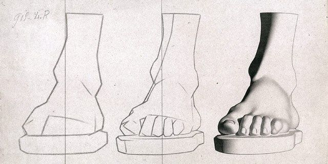 Charles Bargue Drawing Course Feet Louis Smith Art