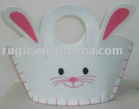 inspiration only - cute felt bunny purse