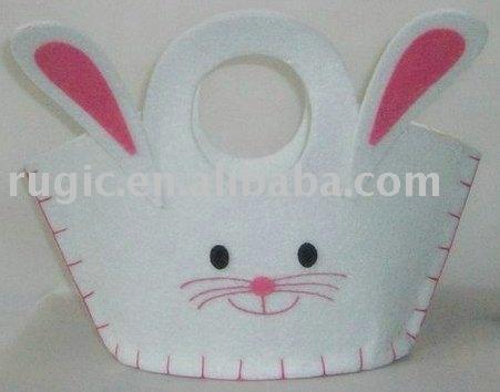 inspiration only - cute felt bunny purse
