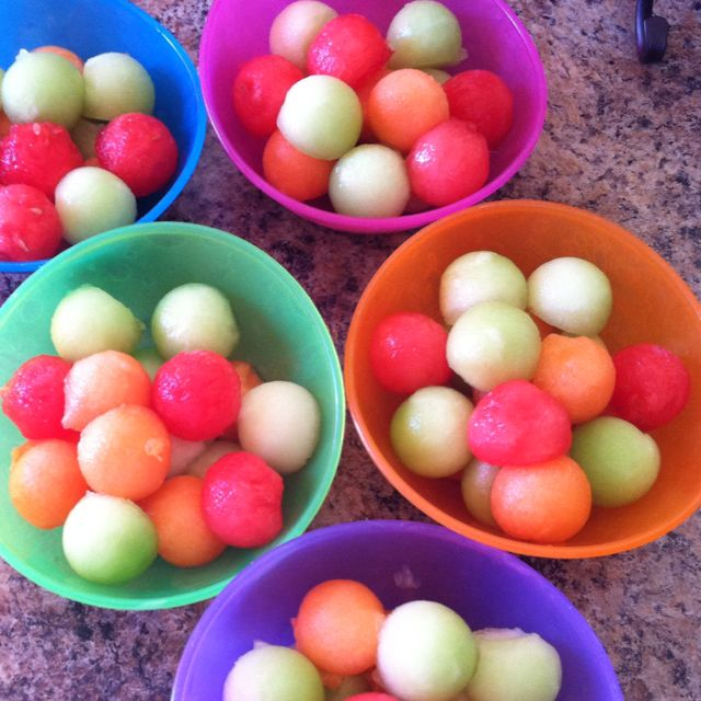 Truffula Fruit from The Lorax for snack during Dr. Seuss Week